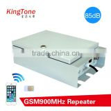 High Power CDMA, GSM, WCDMA Booster 33dBm Indoor Mobile Signal Line Amplifier / Trunk Repeater