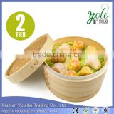 Bamboo Steamer Basket Set