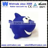 Baby floating toy bath vinyl rubber shark animal