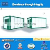 ISO standard prefabricated container house, China alibaba house plan, China supplier modular homes