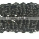 Alibaba China factory human hair extension tangle&shedding free brazilian hair weaving bundles kinky curly hair