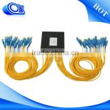 plc splitter and pigtail termination box CWDM System/PON Networks/CATV Links optic fiber splitter