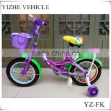 2016 fashion style 12'' 14'' 16''children bicycle / 4 wheel safety children bicycle / China manufacturer children bicycle