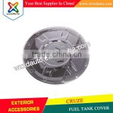 Exterior Chrome Fuel Tank Cap Cover K-160 for GM Chevrolet Cruze 4DR Sedan 2011+ (Fits: Cruze)