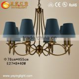 modern fabric chandeliers for dining room,Simple Fabric chandeliers of dining room
