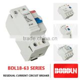 BDL18-63 10KA rccb elcb NEW TYPE residual current circuit breaker