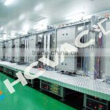 automatic glass mirror coating line/ silver mirror finish machineries /mirror glass production line