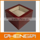 High quality guangzhou factory custom made-in-china elegant wooden watch winder box (ZDS-SJF113)