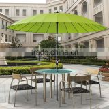 Deluxe luxury outdoor patio sun garden furniture Oriental Shanghai umbrella