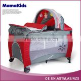2016 Baby Cribs Baby Playpen Folding Cot With Canopy
