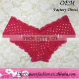 Fresh V-type Style Red Women Thong panties s m l With good Lace