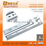 CT4008 40MM Drawer Sliding Mechanism Types of Stainless Drawer Runners Kitchen Cabinet Slide Rail