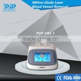 diode laser 980nm spider vein removal machine Good effects Wholesale Vascular Remover 980nm Spider Vein Removal POP-VR6-1