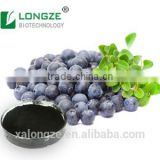 Herb Extract Powder Anthocyanidins Europe Blueberry Fruit Powder Extract Anthocyanins 35%Anthocyanidians 30% UV