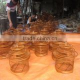 Wholesale cheap price bulk quantity bamboo bird cage, bird house