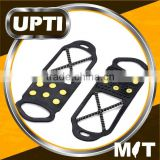 Taiwan Made High Quality Double Traction Snow Grabbers Pavement Crampons Ice and Snow Cleats Non-Slip Rubber Shoe