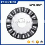 Hot SKS-7 Rotary Circular Blade For Fabric, 28mm Cutting Blade