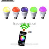 bluetooth wifi RGB led bulb light