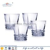 Bohemia high end lead crystal royal whisky glass drinking cups
