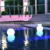 Best Seller Kinetic Ball Light Plastic LED Glowing Floating Ball Lamp with Size 12''