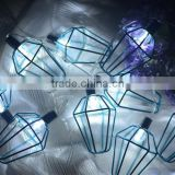New Arrival Metal Lantern Light Chain Bulb String lights For Home Decoration Garden Bedroon