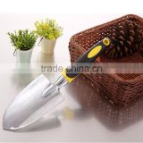 3Pcs/Set Mini Sharp Shovel Rake PP+TPR Handle Iron Head Plant Tool Set Reinforced Gardening Round Mini