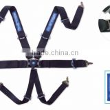 Car Safety Belt,racing seat belts,FIA quality belts, 6 point racing harness safety seat belt