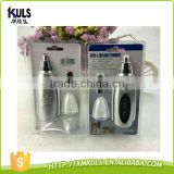 HK Best Selling Portable Men Electric Ear and Nose Hair Trimmer