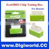 Green EcoOBD2 Economy Chip Tuning Box OBD Car Fuel Saver Eco OBD2 for Benzine Cars