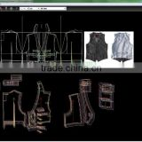 For cloth design !! Intelligent garment pattern CAD software support digitzer/plotter and cutting machine