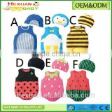 Cotton cartoon animal baby romper set baby clothes summer wearing kids clothing sets suit clothing newborn baby clothes