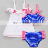 Best Sellers Girl Beachwear With Blue And Pink Sail Away Bikini And Cover-Up Girl Swimsuit Girls Wear G-NP-TR905-397