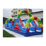 Commercial Baby / Kid Inflatable Obstacle Course Equipment For Amusement Park