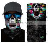 2017 High Quality Outdoor Sports Sublimation Unique Fishing Face Mask Custom Seamelss Head Bandana For Men