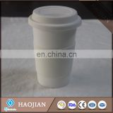 Double wall travel coffee mug with coating for sublimation ceramic blank cups best eling starbucks thermos products