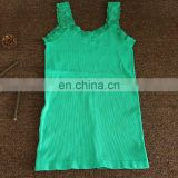 New Fashion women seamless Tank Top high quality lace small vest