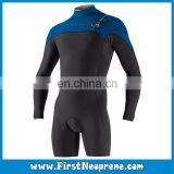 Factory Outlet Direct 3/5MM Premium Neoprene CR Men Long Sleeve Thermal Shorty Wetsuit