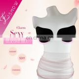 ES6616 China wholesale Fashion and Sexy Adhesive Invisible Silicone Bra for Swimwear