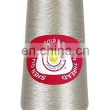 Silver pure metallic thread for traditional embroidery