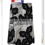 wholesales organza lace fabric with velvet