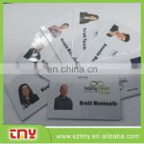 Customized Printing Pvc working id card; Plastic Sample Employee ID card