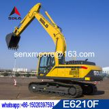 SDLG 2018 new model 21 ton hydraulic excavator E6210F