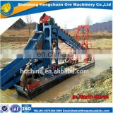 Mining Chain Bucket Gold Dredger/ Gold Dredge for sale/Gold Detecting Dredger From China