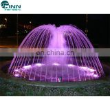 customized stainless music water dancing fountain mini resin garden fountains