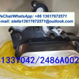 Oil Cooler AS 4133Y042, 2486A002 Perkins Oil Cooler Core for 1106 Diesel Engine Repair and Overhaul Spare Parts