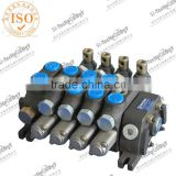 DCV100 series 50l/min on sale/Sectional hydraulic control valve for crane/factory in china