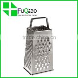 Food Grade stainless steel kitchen multi 4 side vegetable cutter julienne grater
