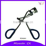 Electroplating with rubber inlay handle eyelash curler