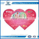 Invitation Card Design Heart Shape Greeting Card