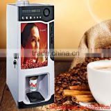 2015 XUEQI auto cup instant commercial coin operated coffee vending machine